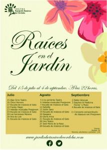 raices en el jardin 2015