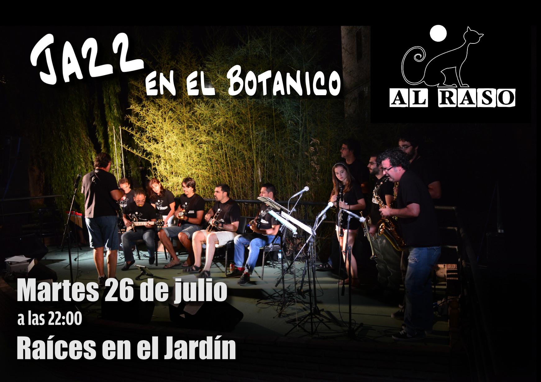 26j concierto en el jard n bot nico al raso for Jardin botanico conciertos