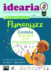 Cartel concierto Flamenjazz